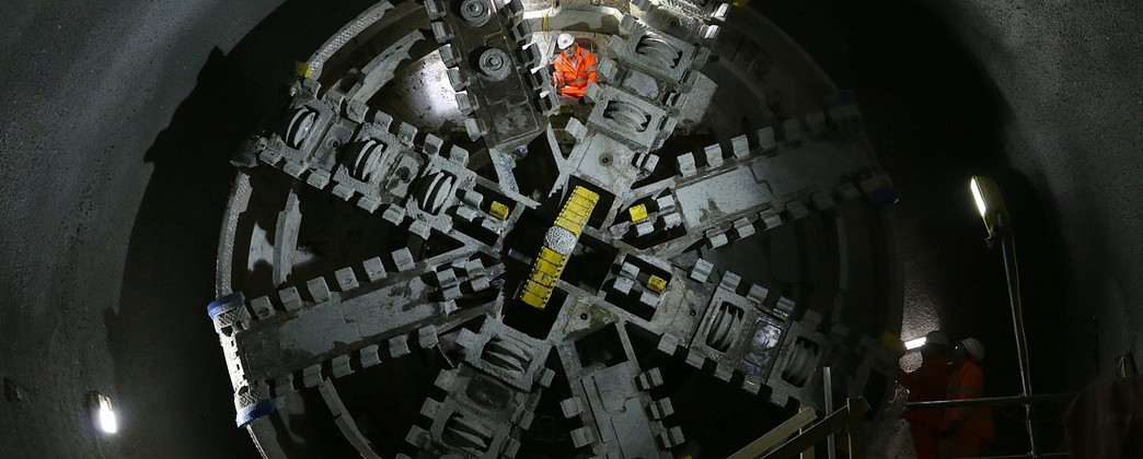 Mayor of London launches final Crossrail tunnelling push