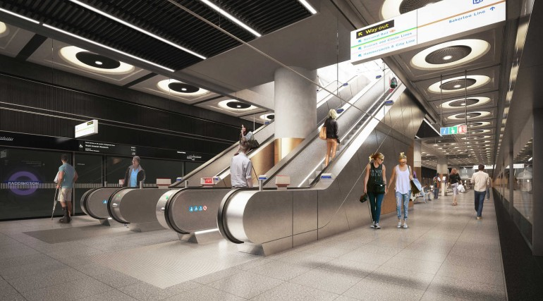 01 Paddington Station - proposed platform level_235982