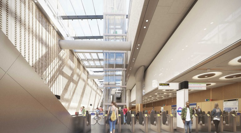 01 Paddington Station - proposed ticket hall_235984