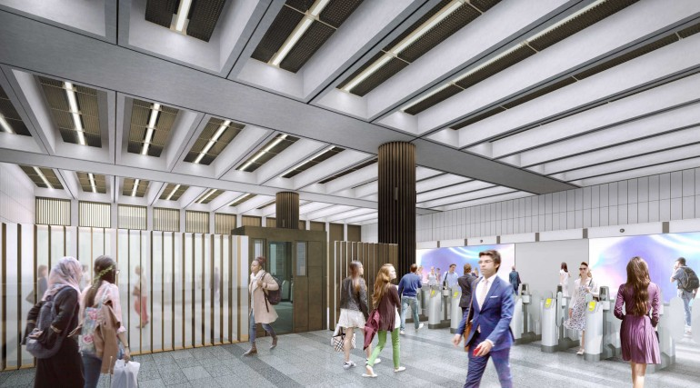 02 Bond Street station - proposed ticket hall on Davies Street_235993