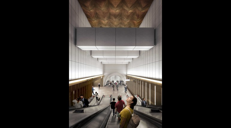 02 Bond Street station - proposed upper escalator from Davies Street ticket hall_235992