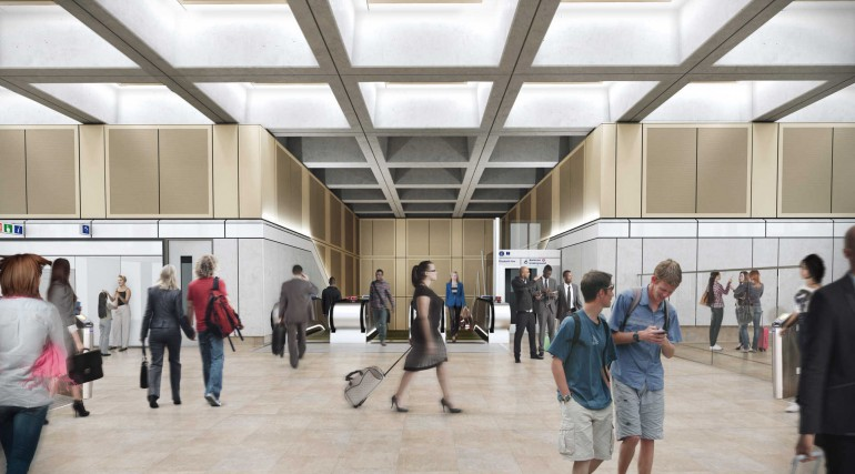 04 Farringdon station - proposed Charterhouse Street ticket hall_236030