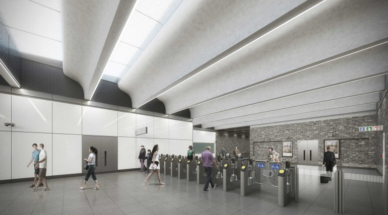 09 Woolwich station - proposed ticket hall_236002