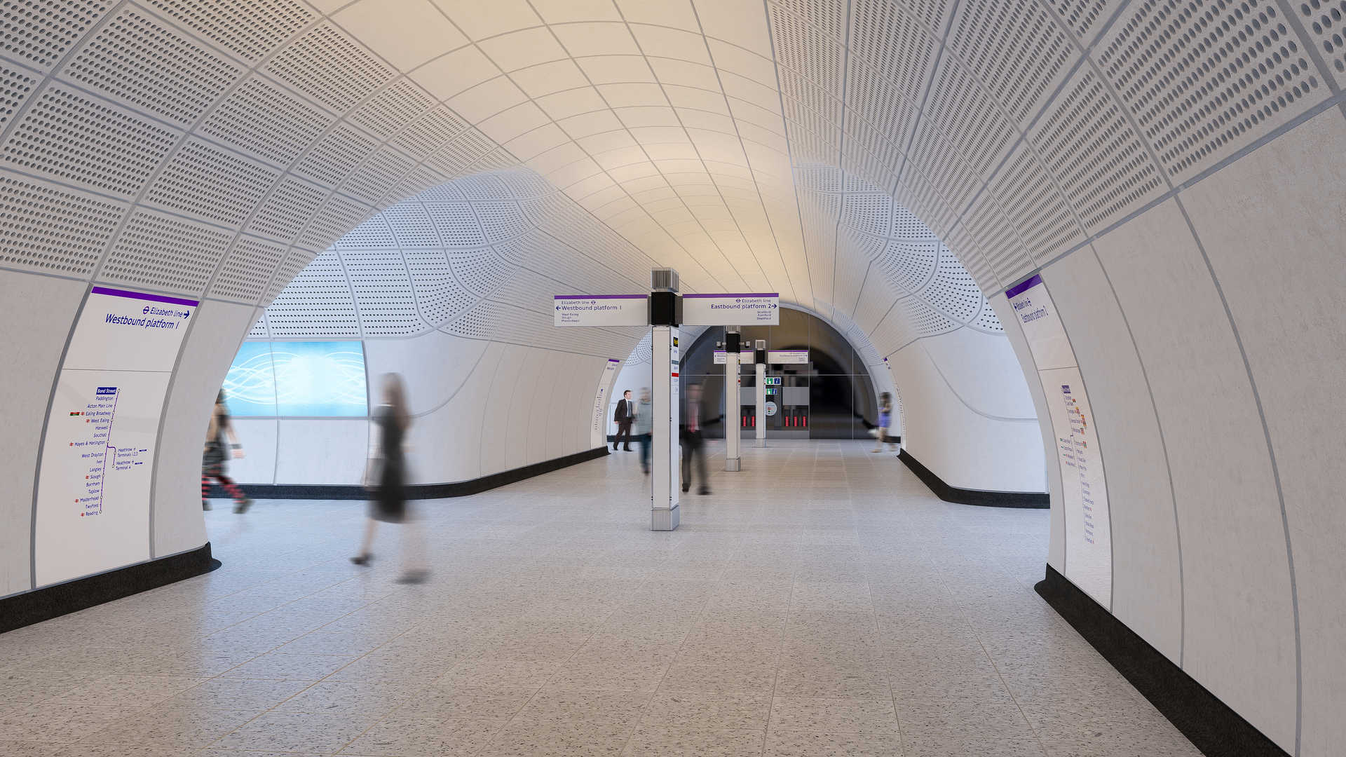 00 Proposed tunnelled platform level concourse on the Elizabeth line_236004