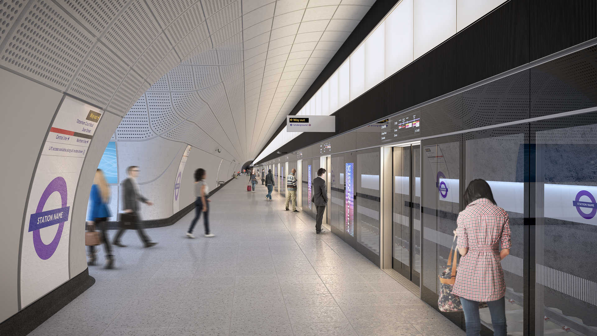 00 Proposed tunnelled station platform on the Elizabeth line_236005