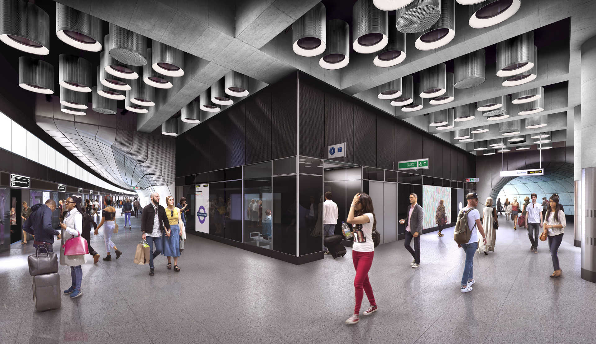stations art and public space crossrail s approach to design
