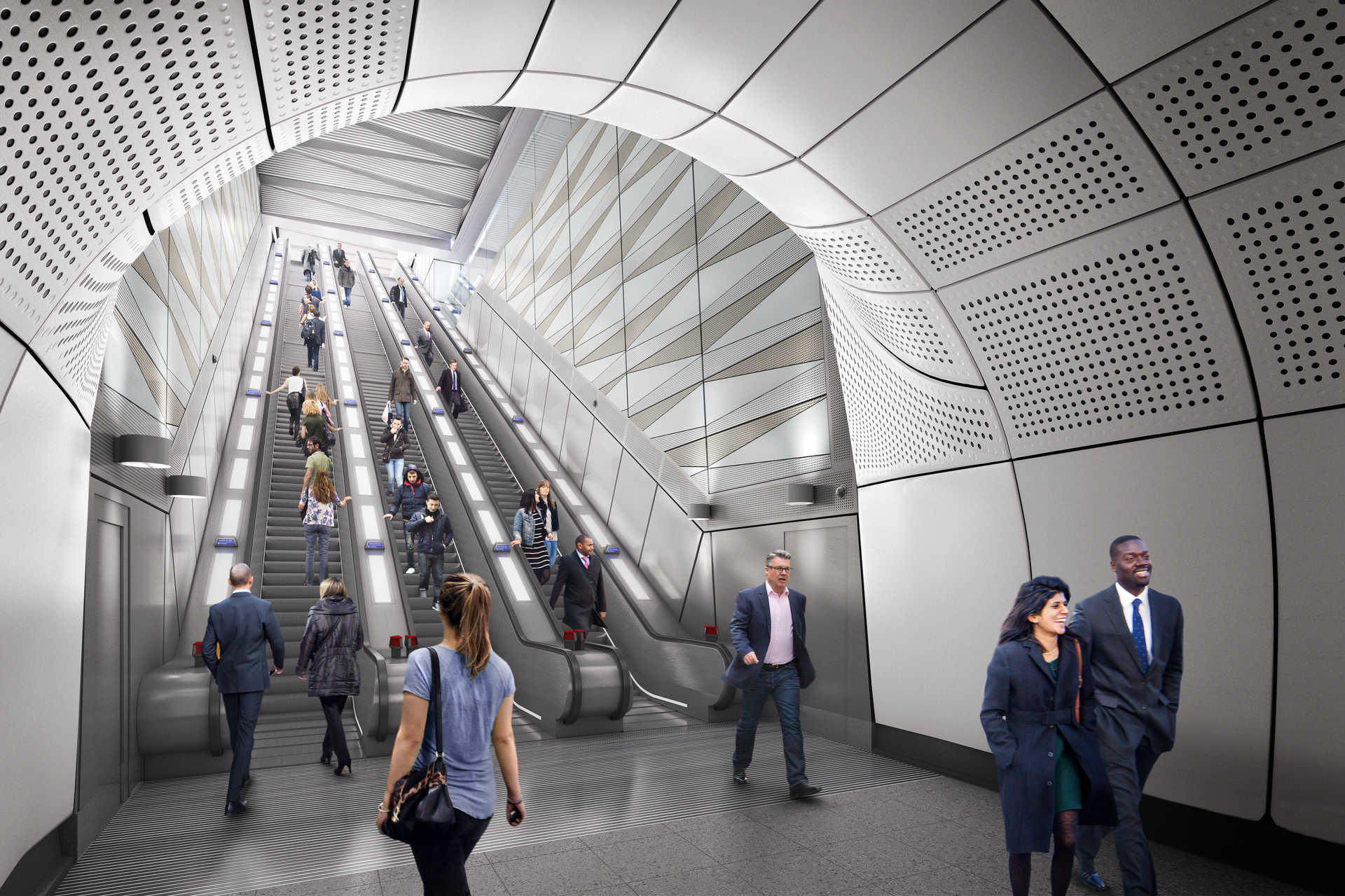 Design In Line : Stations art and public space crossrail s approach to design