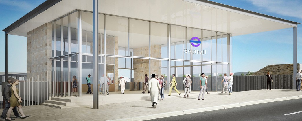 Extensive improvements to Southall station