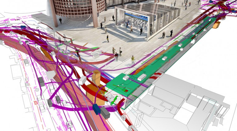 Utility corridor to be created beneath Liverpool Street ticket hall