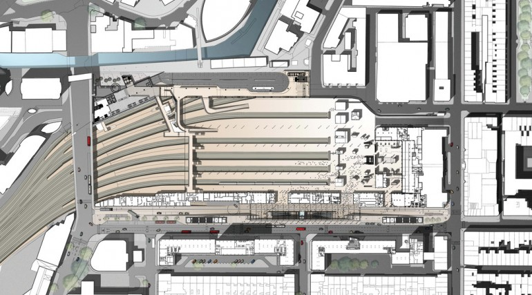 Paddington Station - architects impression