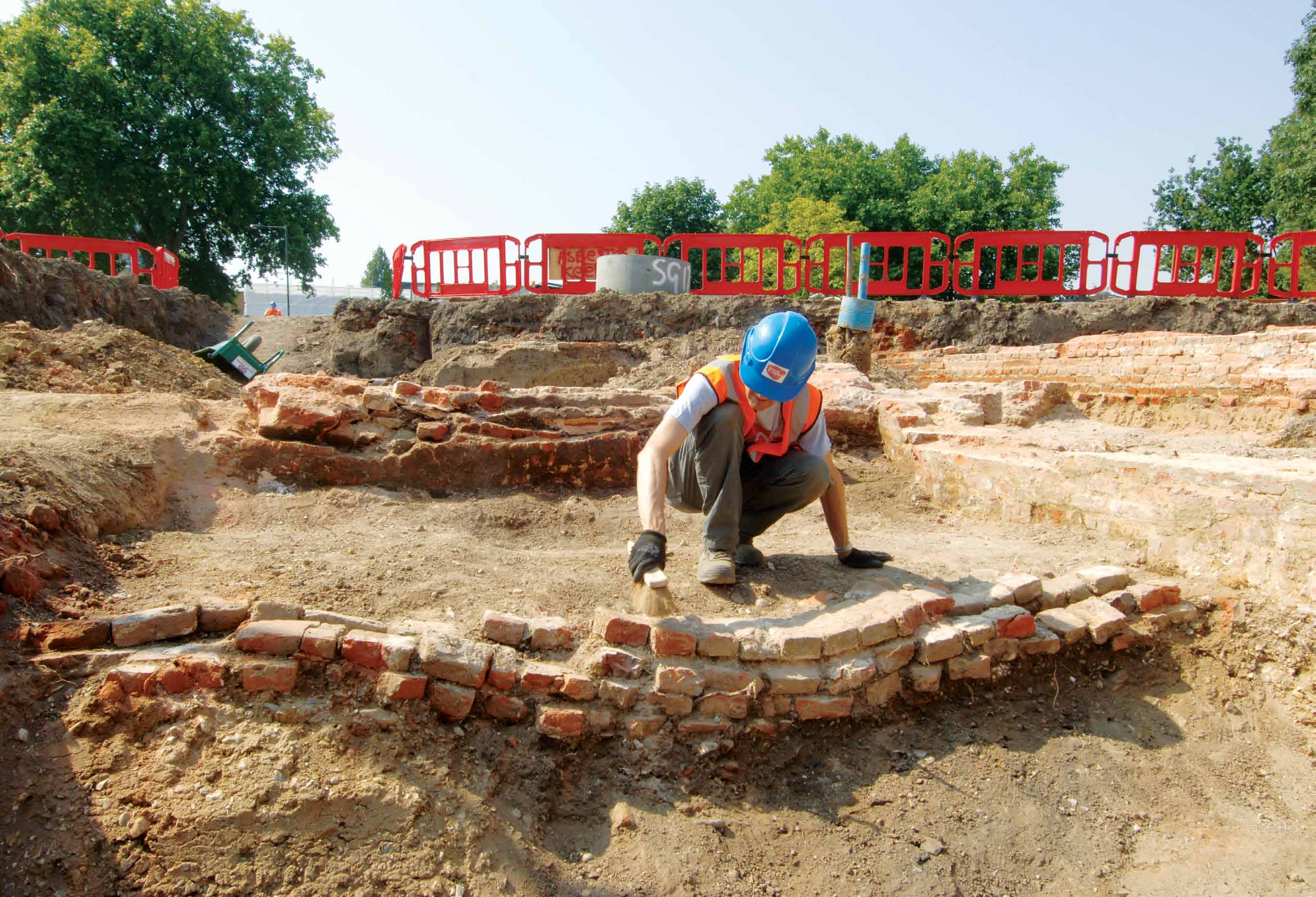Worcester House excavation – Tudor Phase 1569–1640 ad