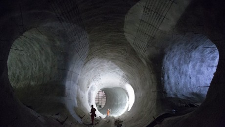 Stunning new images reveal Crossrail�s progress