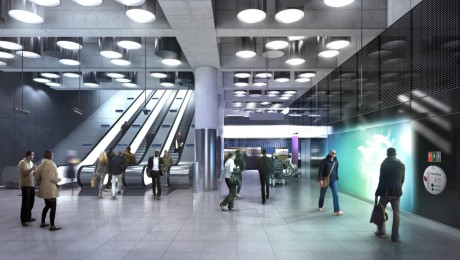 Almacantar agrees art funding at Tottenham Court Road Crossrail station