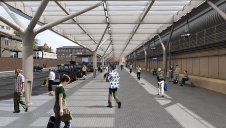 Paddington's new taxi rank opens