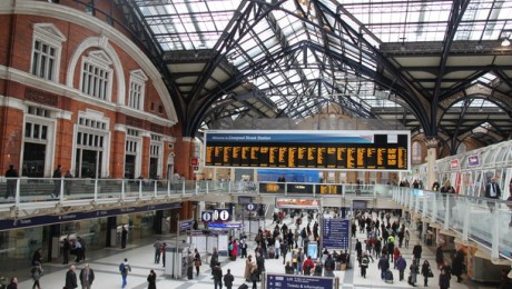 The history of Liverpool Street station