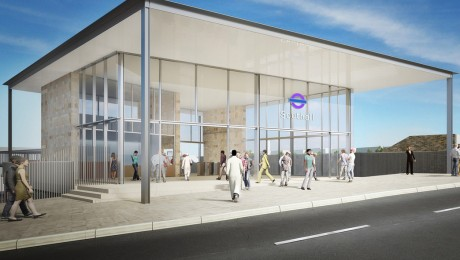 Go ahead for new larger station building at Southall