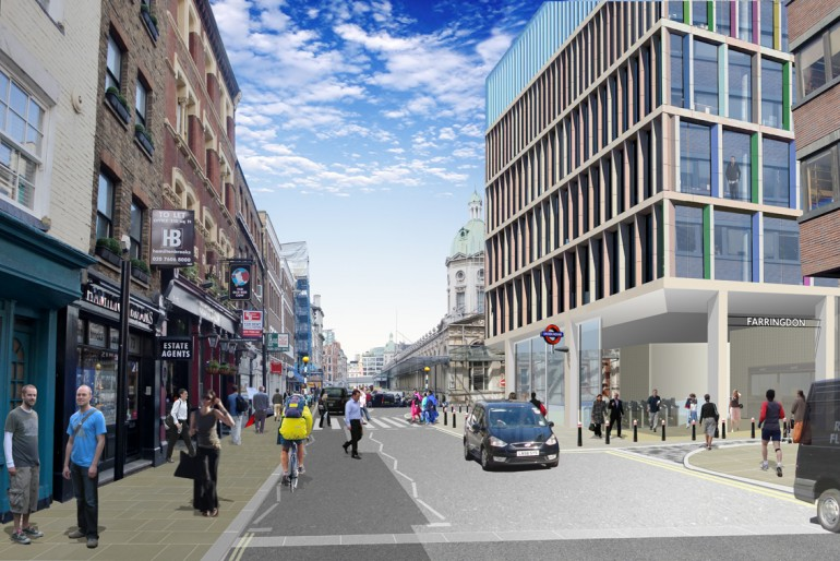 Areas around Crossrail stations set to be transformed