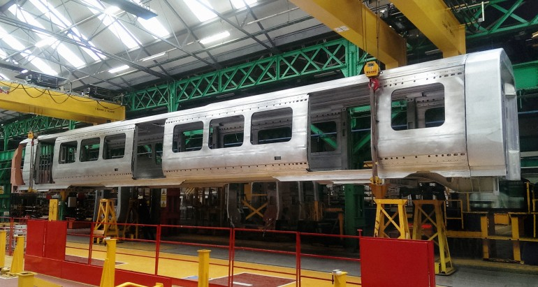 Crossrail trains take shape