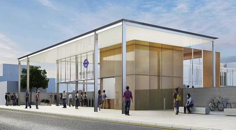 200823_West Ealing Station architects impression