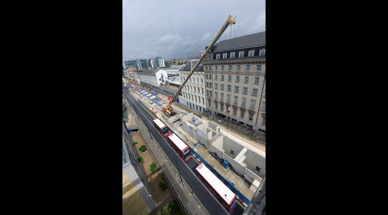 21 View overlooking Paddington station site on Eastbourne Terrace_244624