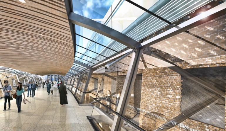 Whitechapel Station - architects impression