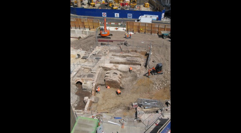 Tottenham Court Road eastern ticket hall - Goslett Yard archaeology