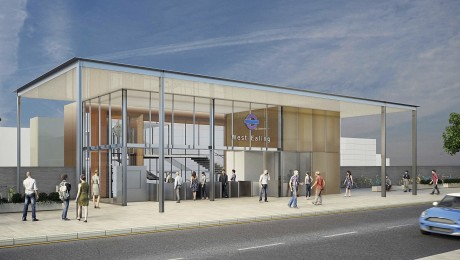 Green light for new station building at West Ealing