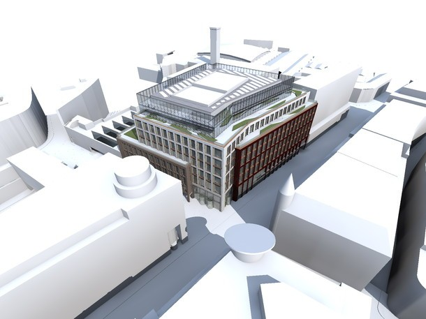 Crossrail submits over-site development application for Farringdon station