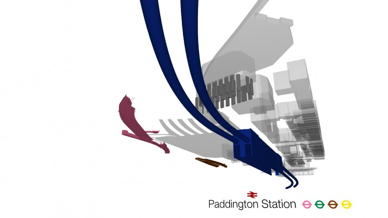 Paddington Station - design