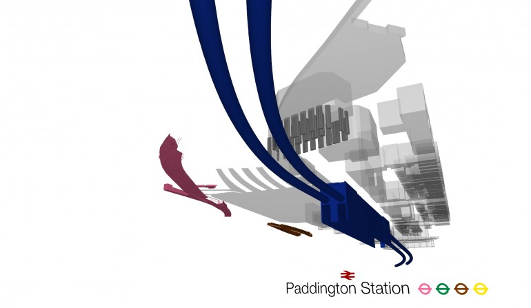 Paddington BIM Fly-through Still, May 2012