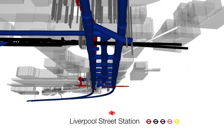 Liverpool St BIM Fly-through Still, May 2012