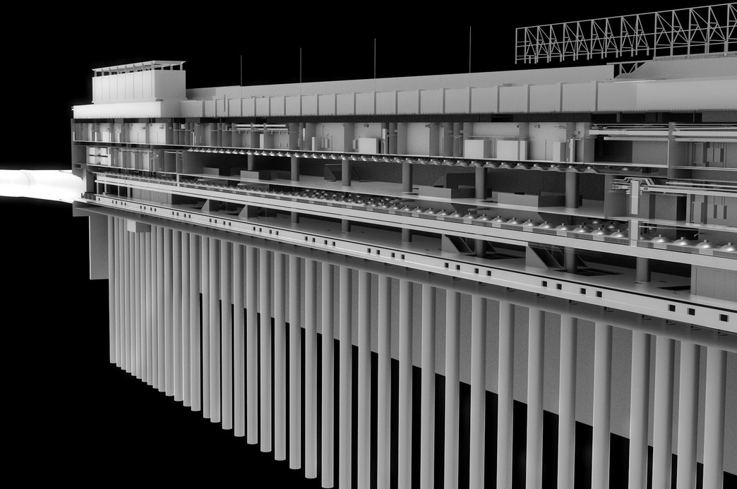 BIM image of Paddington Station structure