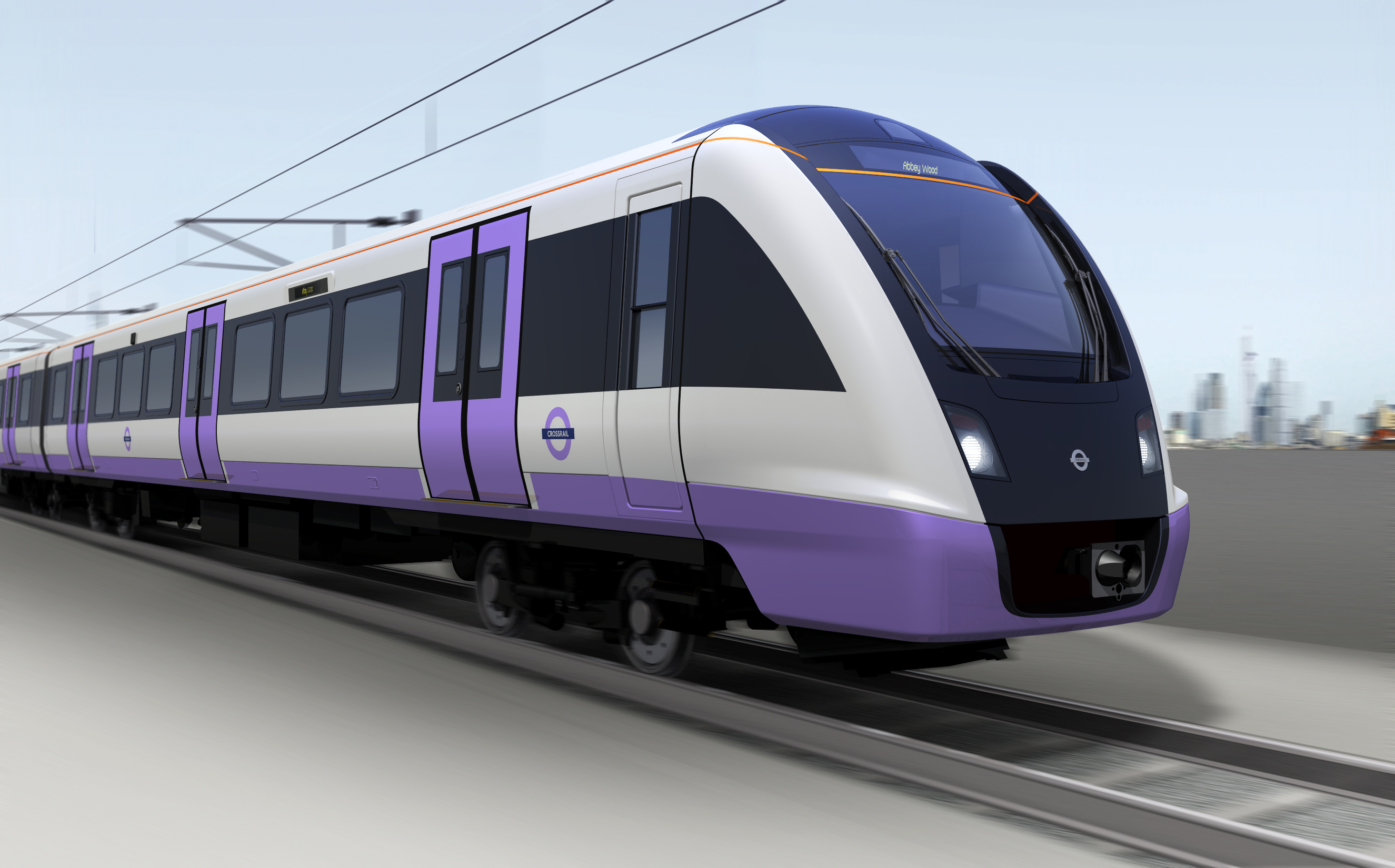 Crossrail rolling stock image Feb 2014