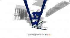 Whitechapel Station - design