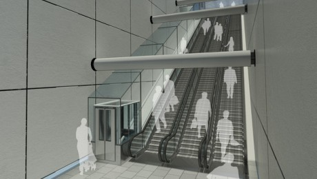 Crossrail and TfL to install first incline lifts in UK public transport