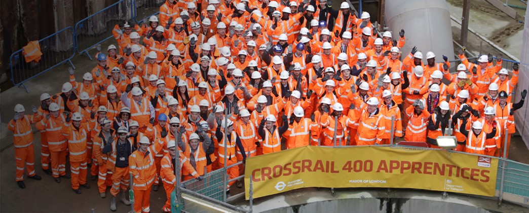 Crossrail creates 400th apprenticeship
