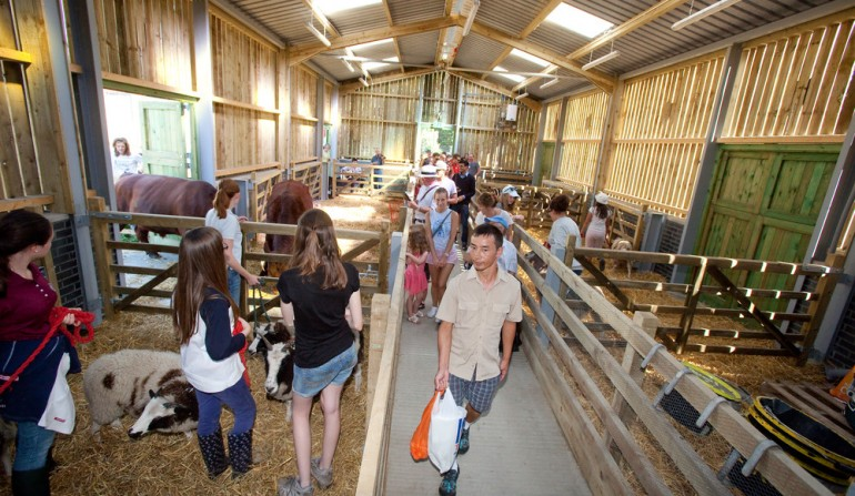 Stepney City Farm officially opens new building, 8 September 2012