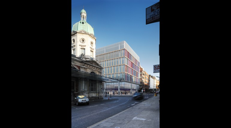 Farringdon - architects impression of proposed oversite development at Lindsey Street