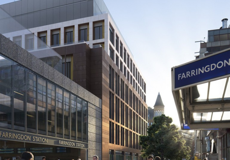 Crossrail over-site development application for Farringdon station approved