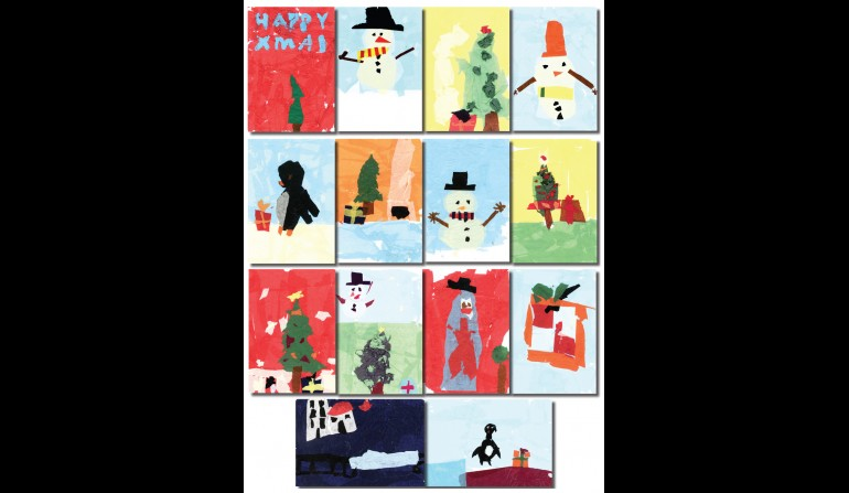 Young Crossrail Christmas Card Competition, Dec 2012