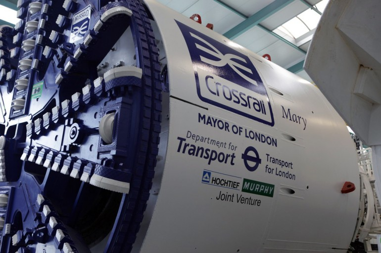 Crossrail's sixth and seventh tunnelling machines on their way to London