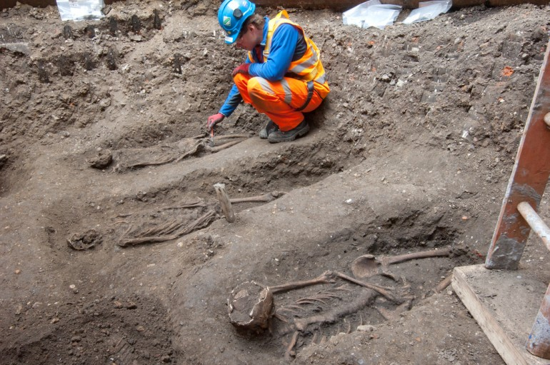 Jam jars and plague pits – 8,000 years of London life explored in new Crossrail archaeology books