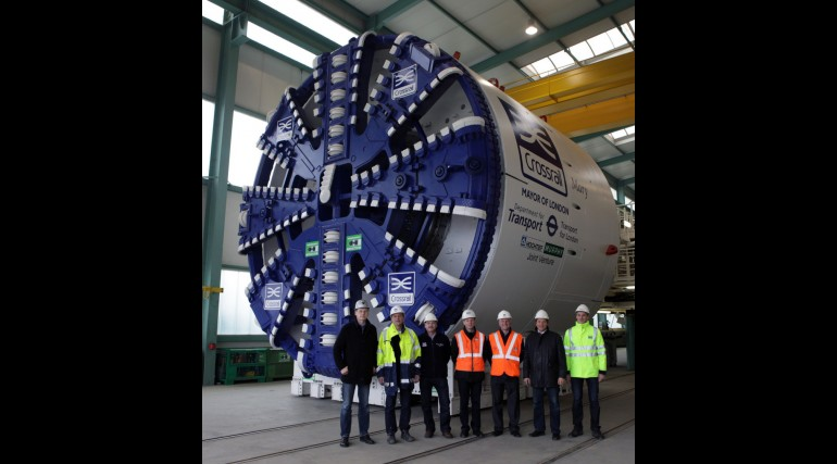 TBM Mary completes factory testing, January 2013
