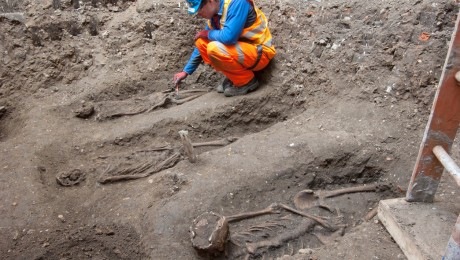 Jam jars and plague pits � 8,000 years of London life explored in new Crossrail archaeology books