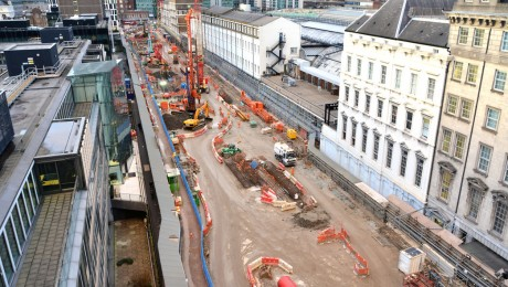 Crossrail Paddington station team commended in Considerate Constructors Scheme inspection