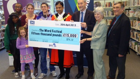 Crossrail helps fund Islington�s innovative �Word Festival 2013�