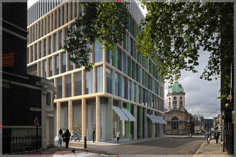 Crossrail submits plans for major new property development in Farringdon