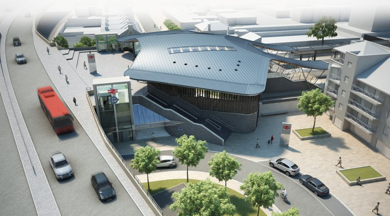 86698_Abbey Wood Station Design - Architects Impression