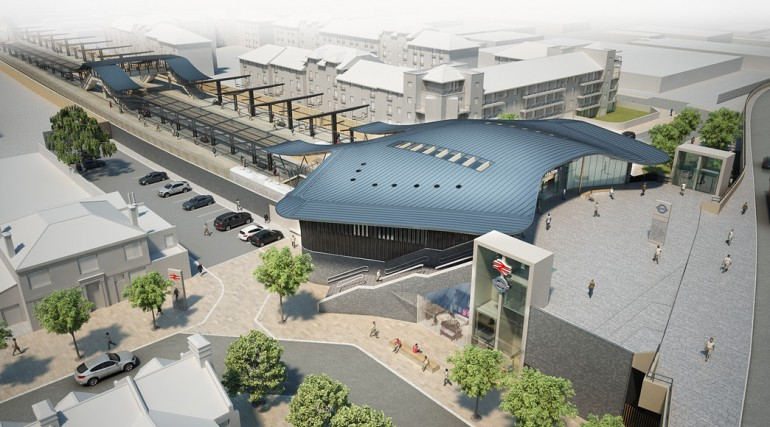 86699_Abbey Wood Station Design - Architects Impression