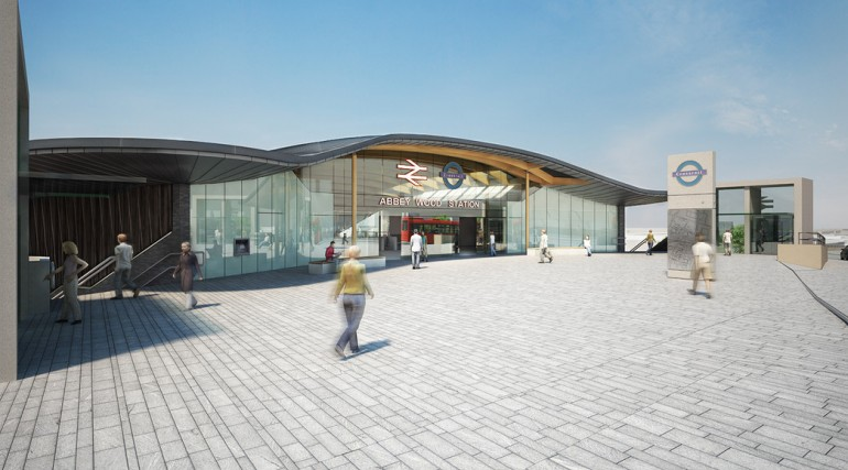 86701_Abbey Wood Station Design - Architects Impression